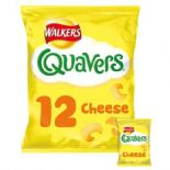 Walkers Quavers Cheese Snacks 12 X 16g